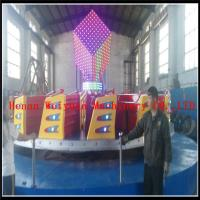 Wholesale Popular Colorful  Kids Amusement Park Games Equipment Ballerina Rides  Fiberglass 24seats Kiddie Hully Gully from china suppliers