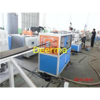 Wholesale Automatic Plastic Pipe Extrusion Line , HDPE Pipe Manufacturing Machines from china suppliers
