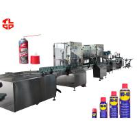 Wholesale Stainless Steel Anti Rust Aerosol Filling Equipment And Crimping Machine from china suppliers