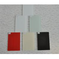 Quality Silk Screen Printing Glass&Painted Glass  / Lacquered Glass/ Lacobel Glasswith Mirror Strip for sale