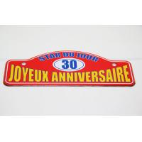 Wholesale Antique Signboard / Direction Board Tin Tray , Small Metal Trays from china suppliers