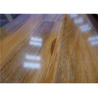 Wholesale Glueless Shiny Hickory Waterproof Laminate Flooring HDF Wooden Floating Quick Lock from china suppliers