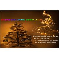 Wholesale Decorative 10m Led Outdoor String Lighting Yellow For Christmas Tree from china suppliers