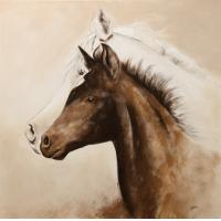 Wholesale realism animal oil painting on canvas from china suppliers