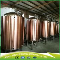Wholesale 300L complete automatic brewing machine for craft beer for sale with full set of production line from china suppliers