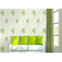 Wholesale Lily Printing 0.53*10M Custom Country Style Wallpaper With Embossed Surface Treatment from china suppliers