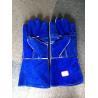 Buy cheap Blue Cow Split Leather 14
