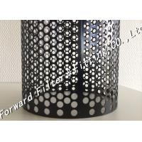 Wholesale Stainless steel Center perforated metal pipe / Customize perforated steel tube from china suppliers