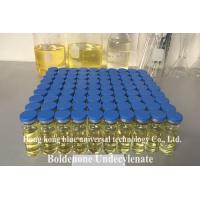 Wholesale Muscle gain Boldenone Steroids Yellow Liquid Injectable Boldenone Undecylenate For Bodybuilding from china suppliers