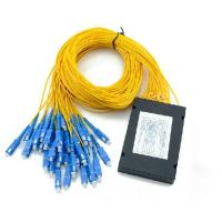 Wholesale Planar Lightwave Circuit (PLC) Fiber Optic Splitter ABS 1*16 For Network from china suppliers