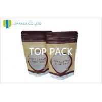 Wholesale Top Zip Lock Stand Up Pouch Packaging MOPP Matte Finish With Front Window from china suppliers