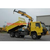 Wholesale Sinotruk Howo Xcmg 12 Tons Lorry Mounted Crane 6x4 Straight Arm 17m With Warranty from china suppliers