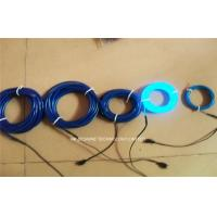 Wholesale Glow EL Lighting Wire With 2.3mm Diameter , Flexible Neon Light from china suppliers