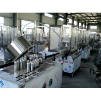 Wholesale Automated Liquid Aerosol Filling Machine / Insecticide Bottle Sealing Machine from china suppliers