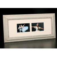"Wholesale Two Multi Openings 4""x6"" MDF Collage Frame In Rural Antique Gray Finishing from china suppliers"