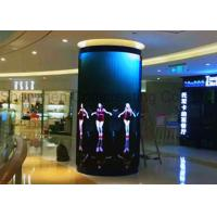 Wholesale OEM Customized SMD P6 HD Column Full Color LED Video Walls Front Service Led Advertising Display Board For Shopping Mall from china suppliers
