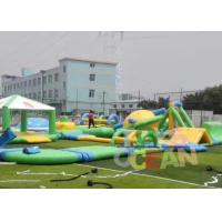 Quality Custom Outdoor Adults Giant Floating Inflatable Water Park UL / EN14960 for sale