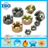 Wholesale Hex Slotted / Castle Nuts,Black oxide castle nut,Black hex slotted nut,Black hex grooved nut,Black castle nut,Tractornut from china suppliers