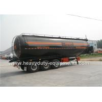 Wholesale 45CBM semi trailer for powder material transportation with air bag suspension from china suppliers