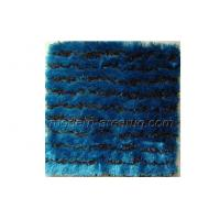 Buy cheap Contemporary Design Table Tufted Light Grey / Blue Polyester Solid Color Rugs Carpets from wholesalers
