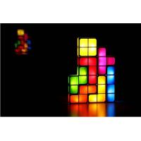Wholesale Wholesale Tetris lamp for Children, children Bedroom Lamp  lamp with colorful light from china suppliers