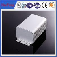 Wholesale 80*45*MM ALUMINUM EXTRUSION ELECTRONIC COMPONENT ENCLOSURE ANODIZING ALUMINIUM ENCLOSURE from china suppliers