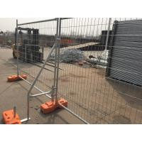 Wholesale Portable Iron Fence HDG Temporary Fence 2100mm X 2400mm Width Design from china suppliers