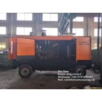 Diesel type 35bar 33m3 high pressure screw air compressor for water well drilling rig