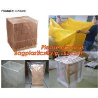 Wholesale Plastic reusable thermal pallet cover, Heavy Duty Waterproof Pallet Cover Tarp, LLDPE Elastic Pallet Packaging Bag Cover from china suppliers