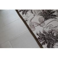 Quality High - Elasticity Living Room Products Monochromes Tree Leaf Printed Living Room Mat for sale