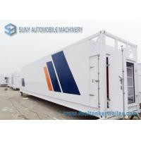 Wholesale 64000 L Mobile Refuel Station Container Oil Tank Trailer 40HQ Oil Storage Tank Container from china suppliers