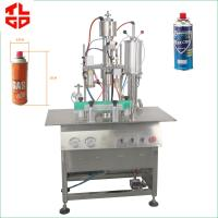 Wholesale Butane Gas / LPG Gas Filling Machine , Stainless Steel Cartridge Filling Machine from china suppliers