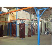 Wholesale Security Door Spray Coating Line / Spraying Assembly Line 1 - 6m/min , Adjustable from china suppliers
