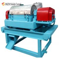 Quality Decanter Centrifuge in Sludge Treatment for sale