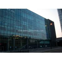 Buy cheap Flat 10MM Tempered Safety Glass Low Visible Distortion , Milk White Laminated Glass from wholesalers