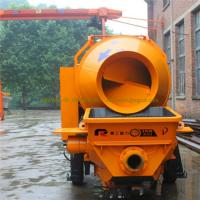 Wholesale Pully Brand wholesale mini concrete mixer pump, portable concrete mixer pump, mixer concrete pump from china suppliers