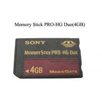 Wholesale Sony Supper Speed MMC Flash Memory Card 4-pin Parallel Stick Pro 4GB 100mA from china suppliers