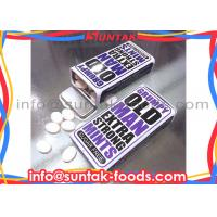 Wholesale Tower Tin Box Packaging Holiday Blueberry Candy Cool Flavor With Extra Cool Taste from china suppliers