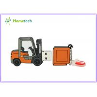 Quality Forklift Style 64g Customized Usb Flash Drive / Pen Drive Usb 2.0 Support Windows ME / XP for sale
