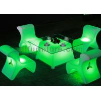 Wholesale Waterproof Illuminated Led Bar Stool Beer Bar Furniture CE / RoHS / UL Approval from china suppliers