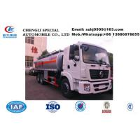 Wholesale Factory customized dongfeng 20,000Liters oil tank truck for sale, HOT SALE! lower price dongfeng 20m3 diesel tank truck from china suppliers