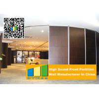 Wholesale 85mm Movable Sound Proof Aluminum Partition Wall For Office And Restaurant from china suppliers
