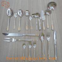 Wholesale Factory Wholesale Price Royal 86Pcs Gold Cutlery Set from china suppliers