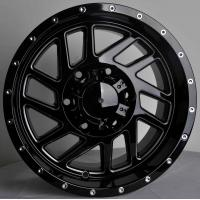 Wholesale Lower Pressure 4x4 Suv Car Alloys Wheels 15X8 With Aluminum Material , PCD 139.7 - 114.3 from china suppliers