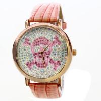 Wholesale Fashion Leather Band Analog Quartz Watch , Waterproof Wrist Watch from china suppliers