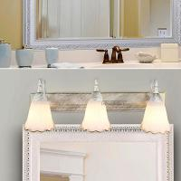 Wholesale E14 bulb 46cm white European style mirror lamp (0300) from china suppliers