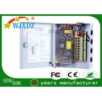 Wholesale 9 Channel Output 12V 10A CCTV Switching Power Supply 120W for CCTV Camera & Screen from china suppliers