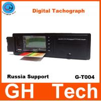 Buy cheap GPS Digital Tachograph GH G-T004 with printer/RS232 for Car/Bus Speed sensor Support Russian GPS / Glonass System from wholesalers