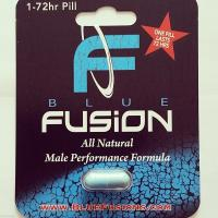 Wholesale Blue Fusion Bliser Card Packaging for Male Tablets , Aqueous Coating from china suppliers