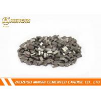 Wholesale Brazed ISO certificate tungsten carbide cutting tips suitable for cutting ferrous metal from china suppliers
